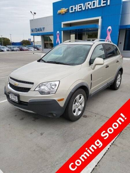 2014 Chevrolet Captiva Sport for sale at Midway Auto Outlet in Kearney NE
