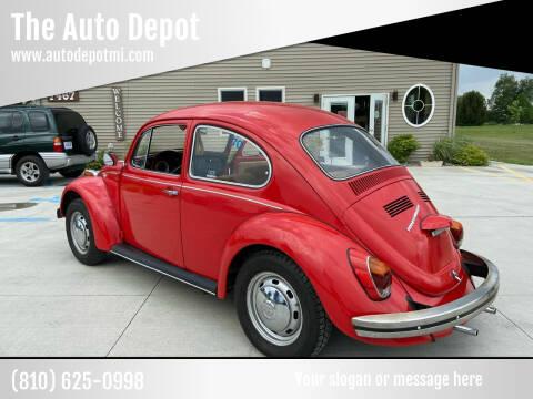 1970 Volkswagen Beetle for sale at The Auto Depot in Mount Morris MI