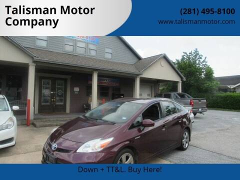 2013 Toyota Prius for sale at Don Jacobson Automobiles in Houston TX