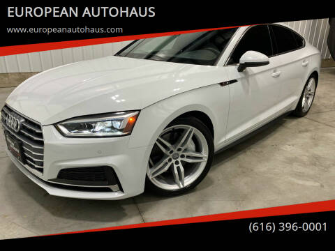 2018 Audi A5 Sportback for sale at EUROPEAN AUTOHAUS in Holland MI