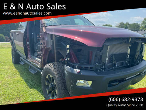 2017 RAM Ram Pickup 2500 for sale at E & N Auto Sales in London KY