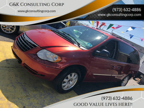 2005 Chrysler Town and Country for sale at G&K Consulting Corp in Fair Lawn NJ