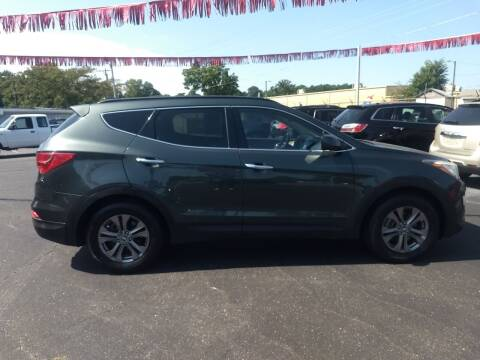 2014 Hyundai Santa Fe Sport for sale at Kenny's Auto Sales Inc. in Lowell NC