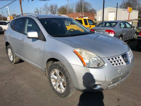 2008 Nissan Rogue for sale at Wise Investments Auto Sales in Sellersburg IN