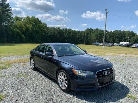 2012 Audi A6 for sale at Sanford Autopark in Sanford NC
