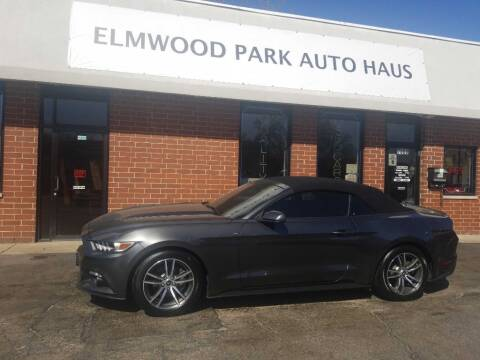 2016 Ford Mustang for sale at Elmwood Park Auto Haus in Elmwood Park IL