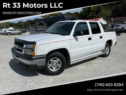 2005 Chevrolet Avalanche for sale at Rt 33 Motors LLC in Rockbridge OH