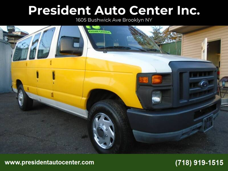 2013 Ford E-Series Wagon for sale at President Auto Center Inc. in Brooklyn NY