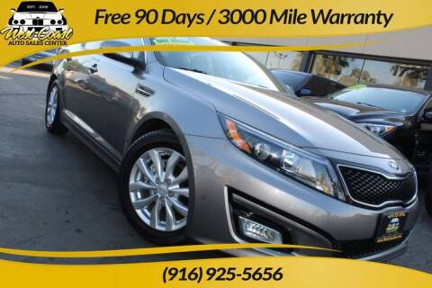2015 Kia Optima for sale at West Coast Auto Sales Center in Sacramento CA