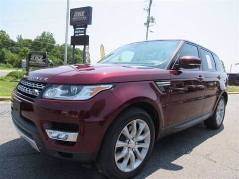 2015 Land Rover Range Rover Sport for sale at J T Auto Group in Sanford NC