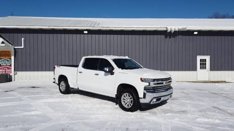 2020 Chevrolet Silverado 1500 for sale at RS Motors in Falconer NY