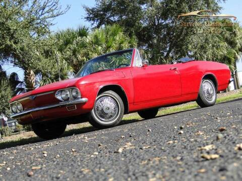 1966 Chevrolet Corvair for sale at SURVIVOR CLASSIC CAR SERVICES in Palmetto FL