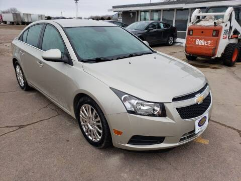 2014 Chevrolet Cruze for sale at BERG AUTO MALL & TRUCKING INC in Beresford SD