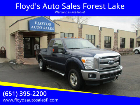 2012 Ford F-250 Super Duty for sale at Floyd's Auto Sales Forest Lake in Forest Lake MN