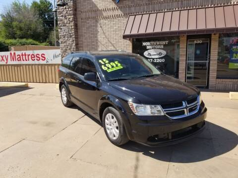 2015 Dodge Journey for sale at NORTHWEST MOTORS in Enid OK