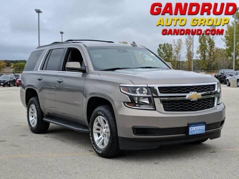 2017 Chevrolet Tahoe for sale at Gandrud Dodge in Green Bay WI
