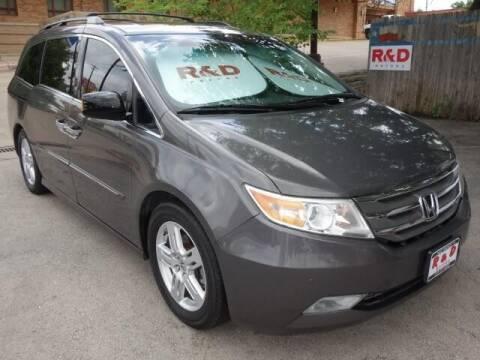 2013 Honda Odyssey for sale at R & D Motors in Austin TX