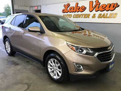 2018 Chevrolet Equinox for sale at Lake View Auto Center and Sales in Oshkosh WI