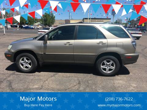 2001 Lexus RX 300 for sale at Major Motors in Twin Falls ID