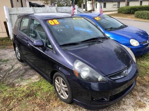 2008 Honda Fit for sale at Castagna Auto Sales LLC in Saint Augustine FL