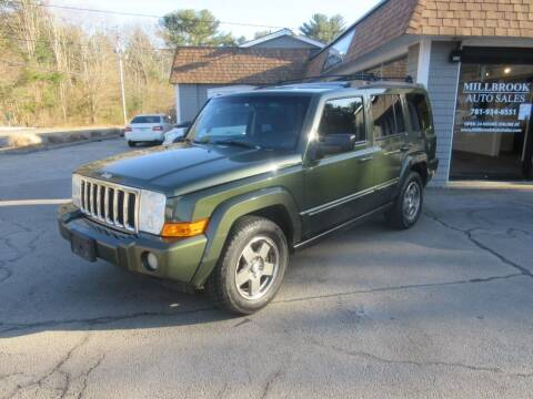 2008 Jeep Commander for sale at Millbrook Auto Sales in Duxbury MA