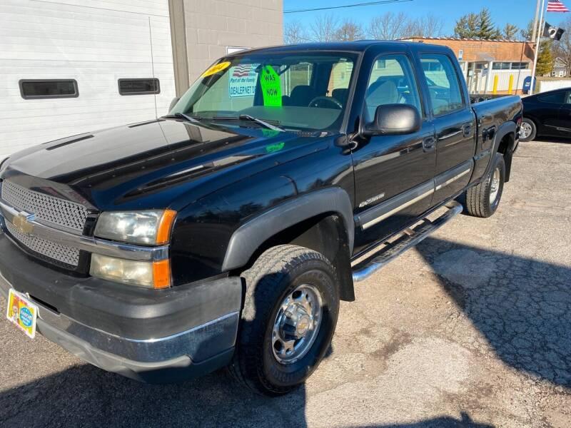 2004 Chevrolet Silverado 2500HD for sale at Jacobs Motors in Huntsville OH