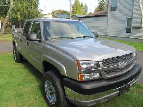 2003 Chevrolet Silverado 2500HD for sale at Seattle Motorsports in Shoreline WA