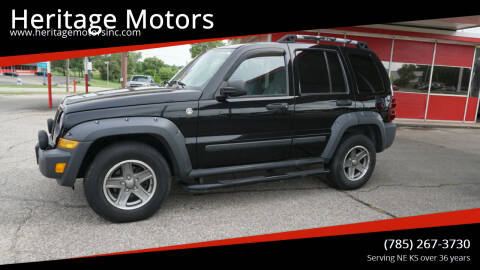 2005 Jeep Liberty for sale at Heritage Motors in Topeka KS