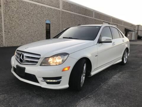 2012 Mercedes-Benz C-Class for sale at Evolution Motors LLC in Dallas TX
