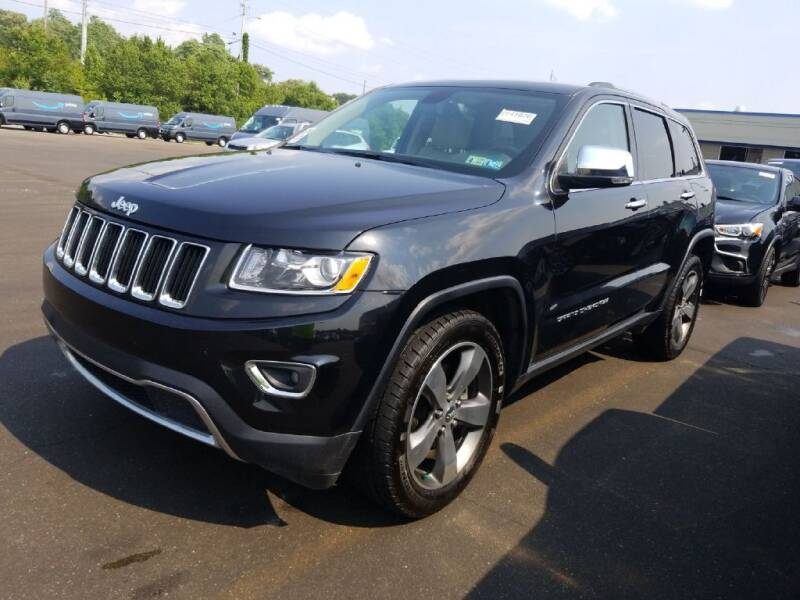 2015 Jeep Grand Cherokee for sale at ENZO AUTO in Parma OH