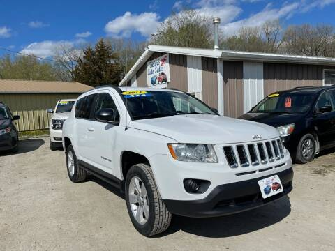 2011 Jeep Compass for sale at Victor's Auto Sales Inc. in Indianola IA