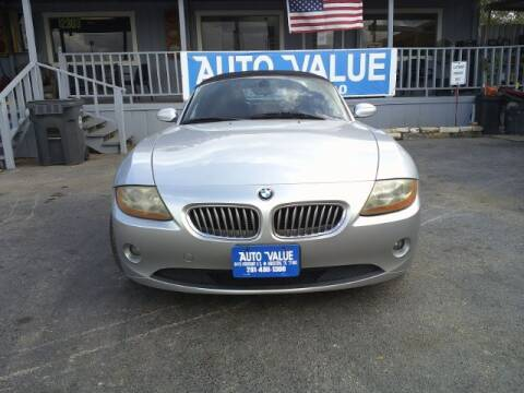 2003 BMW Z4 for sale at AUTO VALUE FINANCE INC in Stafford TX