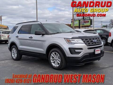 2017 Ford Explorer for sale at GANDRUD CHEVROLET in Green Bay WI