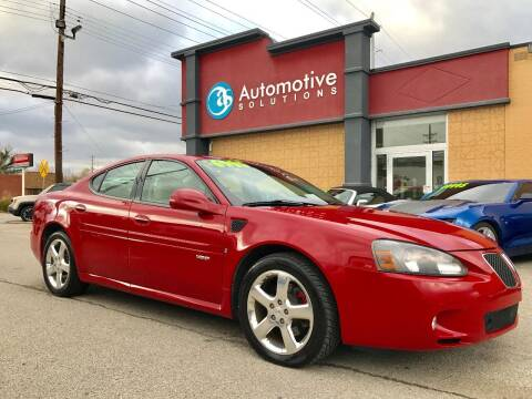 2008 Pontiac Grand Prix for sale at Automotive Solutions in Louisville KY