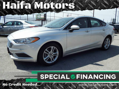 2018 Ford Fusion for sale at Haifa Motors in Philadelphia PA