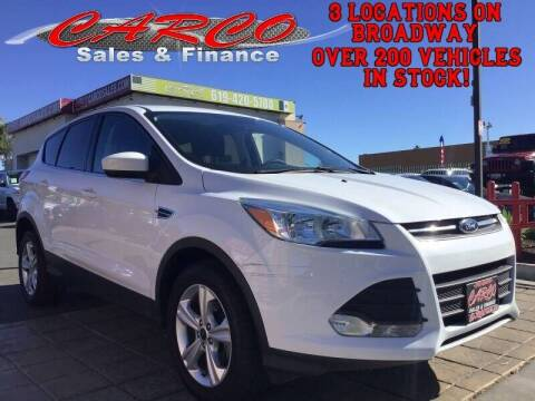 2016 Ford Escape for sale at CARCO SALES & FINANCE - CARCO OF POWAY in Poway CA