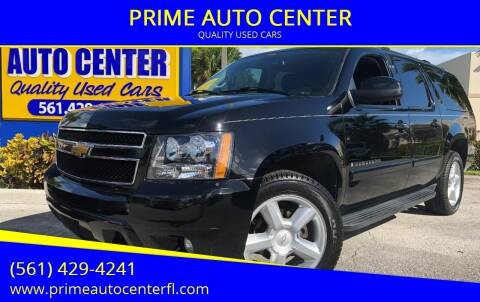 2008 Chevrolet Suburban for sale at PRIME AUTO CENTER in Palm Springs FL