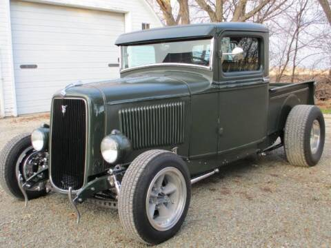 1934 Ford F-100 for sale at Classic Car Deals in Cadillac MI