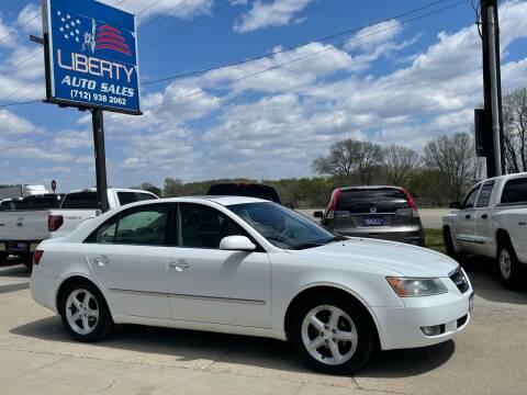 2008 Hyundai Sonata for sale at Liberty Auto Sales in Merrill IA