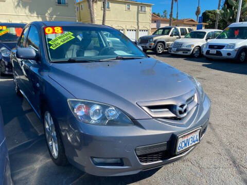 2008 Mazda MAZDA3 for sale at North County Auto in Oceanside CA