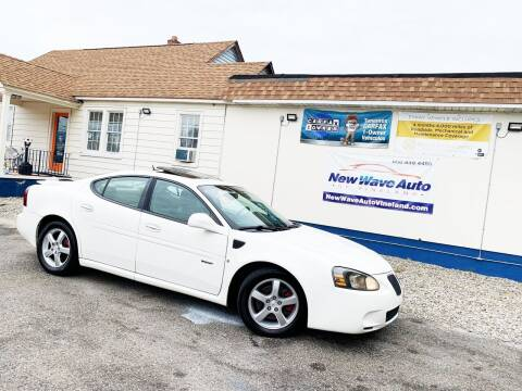 2008 Pontiac Grand Prix for sale at New Wave Auto of Vineland in Vineland NJ