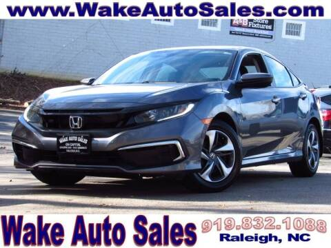 2019 Honda Civic for sale at Wake Auto Sales Inc in Raleigh NC