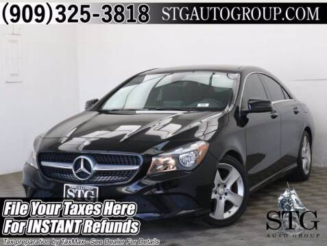2016 Mercedes-Benz CLA for sale at STG Auto Group in Montclair CA