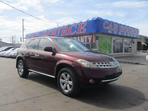 2007 Nissan Murano for sale at CAR SOURCE OKC in Oklahoma City OK
