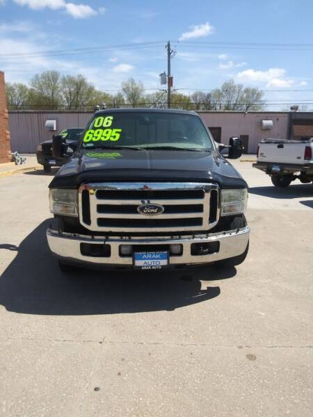 2006 Ford F-250 Super Duty for sale at Arak Auto Group in Bourbonnais IL
