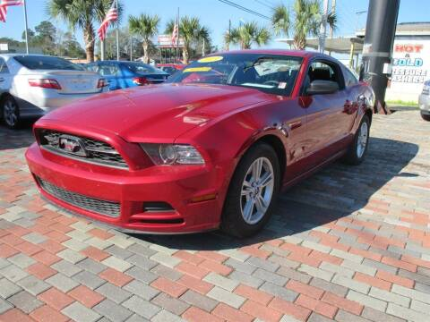 2013 Ford Mustang for sale at Affordable Auto Motors in Jacksonville FL
