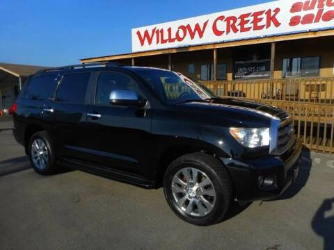2011 Toyota Sequoia for sale at Willow Creek Auto Sales in Knoxville TN