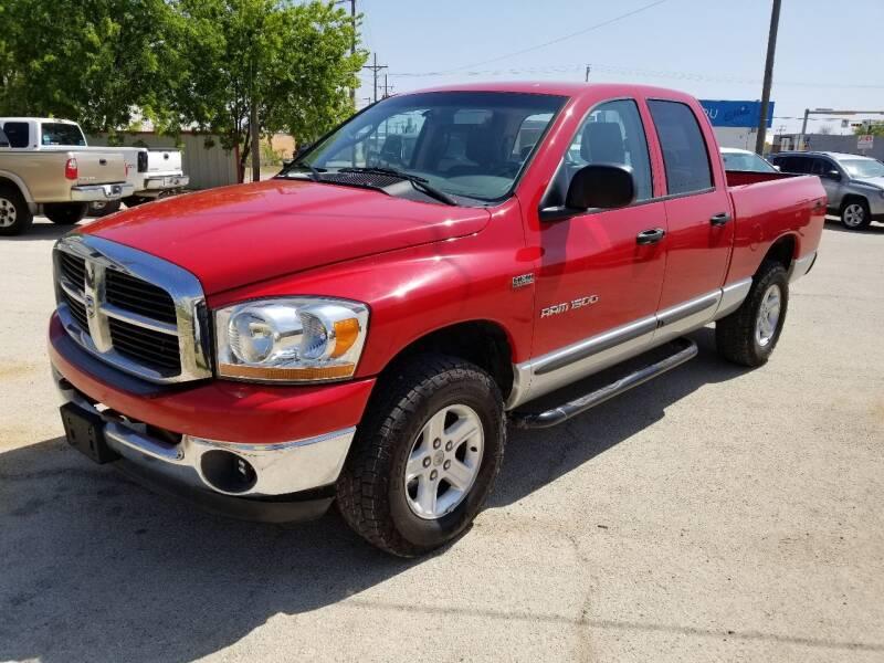 2006 Dodge Ram Pickup 1500 for sale at Key City Motors in Abilene TX