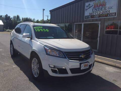2013 Chevrolet Traverse for sale at KEITH JORDAN'S 10 & UNDER in Lima OH