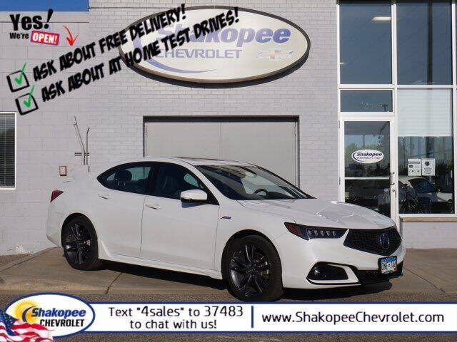 2019 Acura TLX for sale at SHAKOPEE CHEVROLET in Shakopee MN